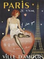 Paris I Love You Fine Art Print
