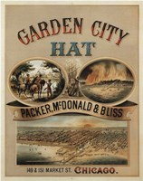 Garden City Hat, 1878 by Vintage Apple Collection, 1878 - various sizes