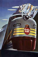 Canadian Pacific Train Fine Art Print