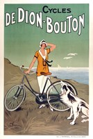Cycles De Dion Bouton by Vintage Apple Collection - various sizes, FulcrumGallery.com brand