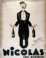 Nicolas Fines Bouteilles Fine Art Print