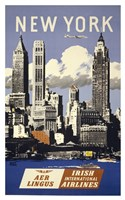 NY Aer Lingus Fine Art Print