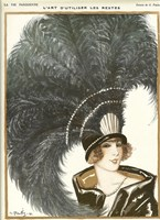 Lavie Parisienne Featherhat Fine Art Print