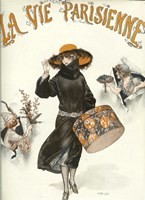 Lavie Parisienne Hatbox by Vintage Apple Collection - various sizes