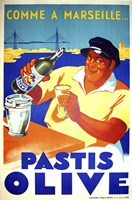Pastis Olive by Vintage Apple Collection - various sizes