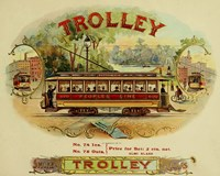 Trolley Cigars Fine Art Print