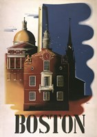 Boston Architecture by Vintage Apple Collection - various sizes - $42.49