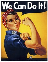 We Can Do It Fine Art Print