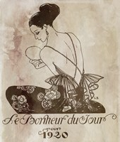 Bonheur by Vintage Apple Collection - various sizes, FulcrumGallery.com brand