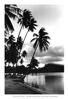 Dreaming of the South Seas, Society Islands, French Polynesia Framed Print