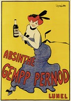Abinsthe Gemp Pernod by Leonetto Cappiello - various sizes