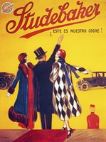 Studebaker by Leonetto Cappiello - various sizes