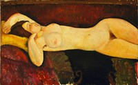 Reclining Nude Arch by Amedeo Modigliani - various sizes
