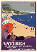 Antibes Fine Art Print