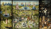 Garden Of Earthly Delights Framed Print