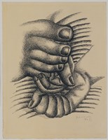 Foot and Hands by Fernand Leger - various sizes, FulcrumGallery.com brand