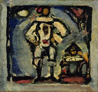 Two Clowns by Goerges Rouault - various sizes