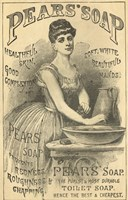 Pears Soap Washbowl Fine Art Print