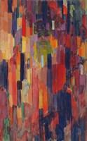 Mme Kupka among Verticals Fine Art Print