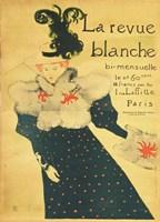 La Revue Blanche Fine Art Print