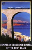 French Riviera Fine Art Print