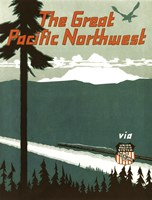 Pacific Northwest by Vintage Apple Collection - various sizes