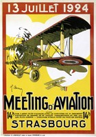 Strasbourg Aviation Fine Art Print