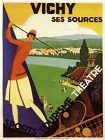 Vichy Ses Sources Fine Art Print