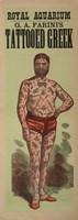 Tattoo Greek Fine Art Print