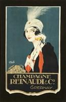 Champagne Renaudi Fine Art Print