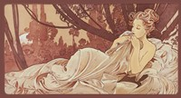 Sepia by Alphonse Mucha - various sizes - $38.99
