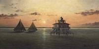 Smith Point Sunset by David Knowlton - various sizes, FulcrumGallery.com brand