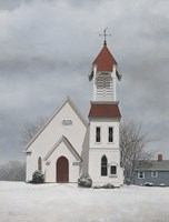 Pigeon Cove Chapel by David Knowlton - various sizes - $22.49