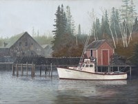 Foggy Morning by David Knowlton - various sizes - $29.99