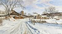 Mid-January Farmscape Fine Art Print
