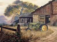 Deere Country Fine Art Print
