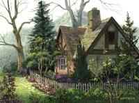 Hidden Cottage Fine Art Print
