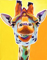 Giraffe No. 3 Framed Print