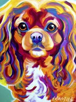 King Charles Spaniel Boonda by DawgArt - various sizes, FulcrumGallery.com brand