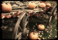 Pumpkin Wagon by Mindy Sommers - various sizes