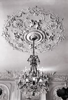Ornate Ceiling Engraving Fine Art Print