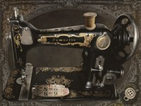 Vintage Sewing Machine Fine Art Print