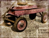 Red Wagon by Mindy Sommers - various sizes