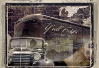 Y'all Freight Co by Mindy Sommers - various sizes