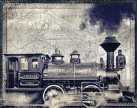 Railway Beantown by Mindy Sommers - various sizes