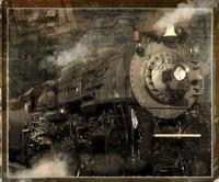 Train Flat Fine Art Print