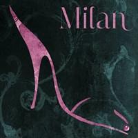 Milan Shoes Framed Print