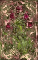 Art Nouveau Pink Floral by Mindy Sommers - various sizes