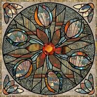 Mandala Ibis Fine Art Print
