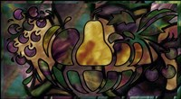 Stained Glass Fruit by Mindy Sommers - various sizes, FulcrumGallery.com brand